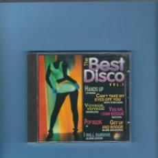 CDs de Música: CD - THE BEST DISCO - VOL. 1. Lote 179315746