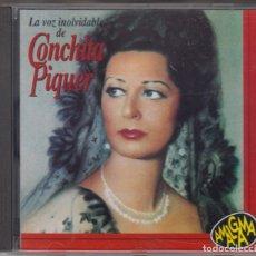 CDs de Música: LA VOZ INOLVIDABLE DE CONCHITA PIQUER CD 1994 AMALGAMA CONCHA PIQUER. Lote 179318463