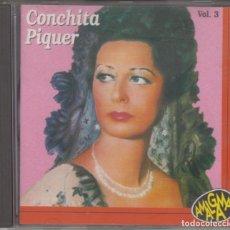 CDs de Música: CONCHITA PIQUER CD VOL. 3 1994 AMALGAMA CONCHA PIQUER. Lote 179318961