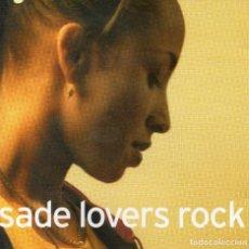 CDs de Música: SADE - LOVERS ROCK - CD ALBUM - EU 2000 - EPIC - 500766 2. Lote 179319425