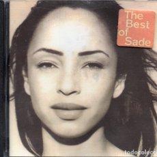 CDs de Música: SADE - THE BEST OF SADE - CD ALBUM - UK 2004 - EPIC - 4777932. Lote 179319737