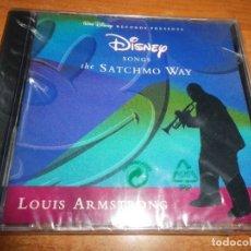 CDs de Música: LOUIS ARMSTRONG DISNEY SONGS THE SATCHMO WAY CD ALBUM PRECINTADO 1996 ALEMANIA CONTIENE 10 TEMAS. Lote 179328327