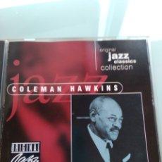 CDs de Música: COLEMAN HAWKINS – ORIGINAL JAZZ CLASSICS COLLECTION. Lote 179374770