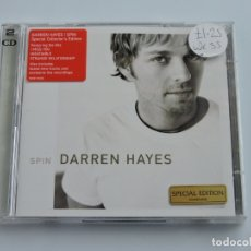 CDs de Música: DARREN HAYES - SPIN SPECIAL EDITION 2XCD. Lote 179375032