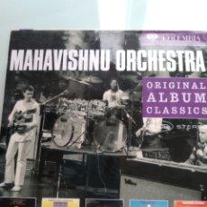 CDs de Música: MAHAVISHNU ORCHESTRA – ORIGINAL ALBUM CLASSICS (CAJA CON 5 CDS). Lote 179375283