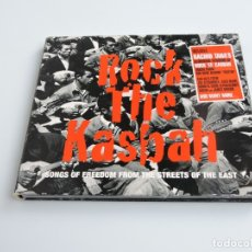 CDs de Música: ROCK THE KASBAH SONGS OF FREEDOM FROM THE STREETS OF THE EAST CD. Lote 179380031