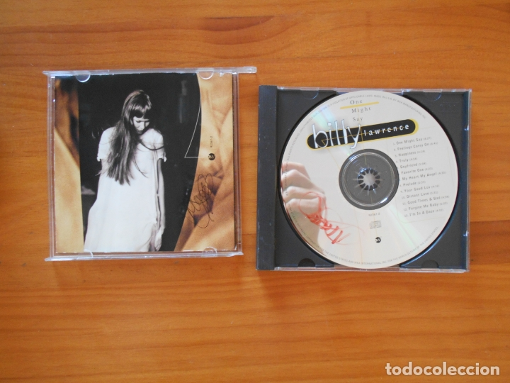 CDs de Música: CD BILLY LAWRENCE - ONE MIGHT SAY (8P) - Foto 2 - 179380263