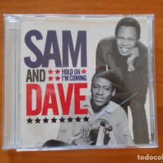 CDs de Música: CD SAM AND DAVE - HOLD ON I'M COMING (8P). Lote 179380348
