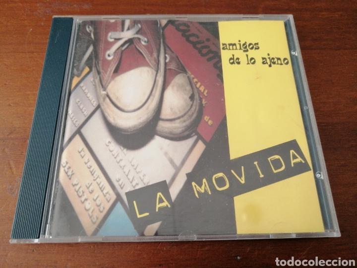 AMIGOS DE LO AJENO LA MOVIDA PUSSYCATS RECORDS (Música - CD's Rock)