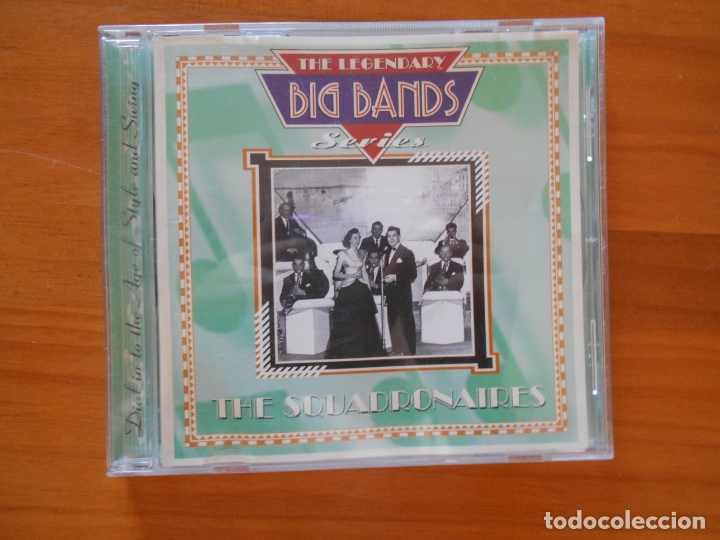 CDs de Música: CD THE LEGENDARY BIG BAND SERIES - THE SQUADRONAIRES (8N) - Foto 1 - 179381130
