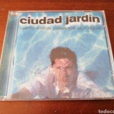 CDs de Música: CIUDAD JARDÍN VEINTE ÉXITOS PASADOS POR AGUA FONOMUSIC 2003. Lote 194248123