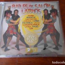 CDs de Música: 2 CD BAILES DE SALÓN LATINOS/VOL.19 VOL.1 Y VOL.2. Lote 179390418