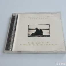 CDs de Música: THE MUSIC OF THE MOVIES LOVE SONGS CD. Lote 179390565