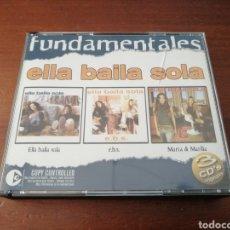CDs de Música: 3 CD ELLA BAILA SOLA FUNDAMENTALES E. B. S. MARTA Y MARILIA EMI 2004. Lote 179392483