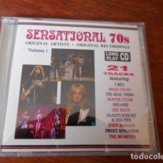 CDs de Música: 2 CD SENSATJONAL 70 S VOL.1 Y VOL.2. Lote 179392513