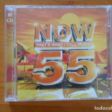 CDs de Música: CD NOW 55 - THAT'S WHAT I CALL MUSIC! (2 CD'S) (9F). Lote 179392543