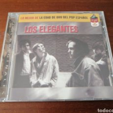 CDs de Música: LOS ELEGANTES LO MEJOR DE LA EDAD DE ORO DEL POP ESPAÑOL BMG 2001. Lote 221000486