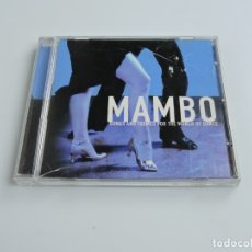CDs de Música: MAMBO SONGS AND THEMES FOR THE WORLD OF DANCE CD . Lote 179393780