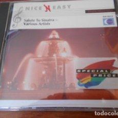 CDs de Música: CD SALUTE TO SINATRA -VARIOUS ARTISTS. Lote 179395507
