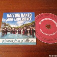 CDs de Música: HATTORI HANZO FIRMADO! SURF EXPERIENCE MEANWHILE IN MALLORCA 2016 CD CARTÓN. Lote 179395626