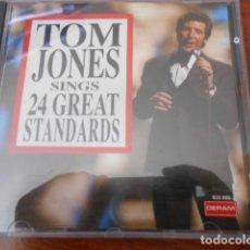 CDs de Música: CD TOM JONES -TOM JONES SINGS-24 GREAT STANDARDS. Lote 179395781