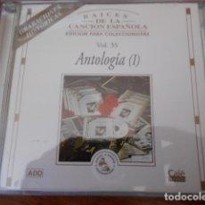 CDs de Música: CD ANTOLOGIA(II) VOL.36 Y CD ANTOLOGIA(I) VOL.35. Lote 179396025