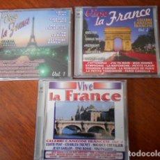 CDs de Música: 6 CD VIVE LA FRANCE. Lote 179396148