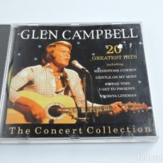 CDs de Música: GLEN CAMPBELL 20 GRETEST HITS CD . Lote 179397320