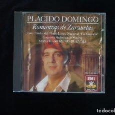 CDs de Música: PLACIDO DOMINGO ROMANZAS DE ZARZUELAS - CD COMO NUEVO. Lote 179400065