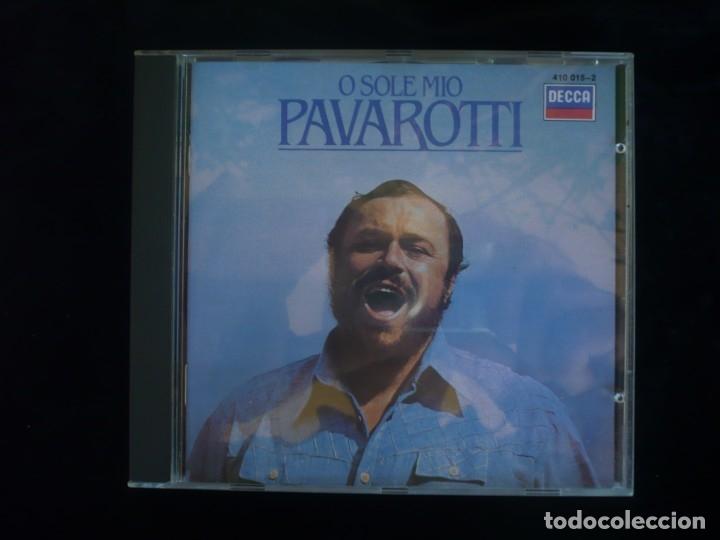 PAVAROTTI - O SOLE MIO - CD COMO NUEVO (Música - CD's Clásica, Ópera, Zarzuela y Marchas)