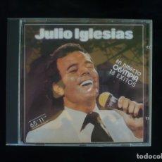 CDs de Música: JULIO IGLESIAS EN DIRECTO DESDE EL OLIMPIA 18 EXITOS - CD COMO NUEVO. Lote 179400315