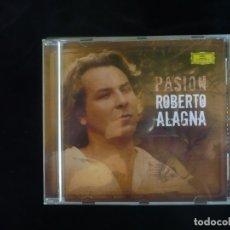CDs de Música: ROBERTO ALAGNA - PASION - CD COMO NUEVO. Lote 179400445