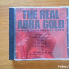 CDs de Música: CD THE REAL ABBA GOLD - ABBA'S GREATEST HITS (9C). Lote 179401146