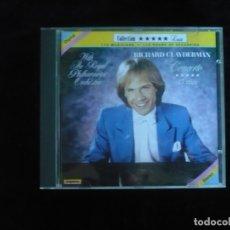 CDs de Música: RICHARD CLAYDERMAN - CONCERTO - CD COMO NUEVO. Lote 179520708