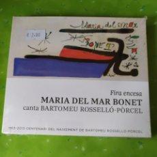 CDs de Música: (CD942) MARÍA DEL MAR BONET SEGUNDAMANO. Lote 179530098