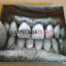 CDs de Música: BARRICADA - BESAME (DIGIPACK CD+DVD). Lote 179532286