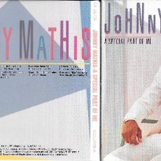 CDs de Música: JOHNNY MATHIS - A SPECIAL PART OF ME. Lote 179547966