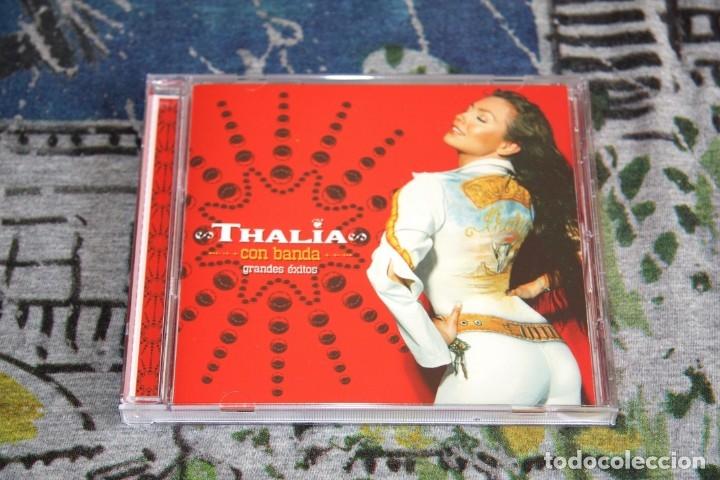 THALÍA - CON BANDA - GRANDES ÉXITOS - EMI - 7243 5 34722 2 1 - CD (Música - CD's Latina)