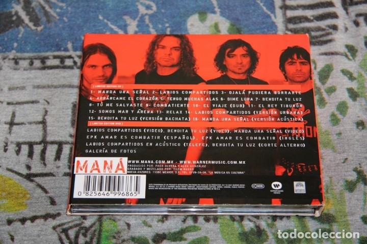 CDs de Música: Maná - Amar Es Combatir - CD + DVD - Deluxe Limited Edition - LC 00392 - 2 DISCOS - Foto 2 - 49049360