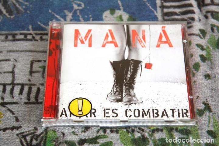 MANÁ - AMAR ES COMBATIR - WARNER MUSIC - 2564636612 - CD (Música - CD's Latina)