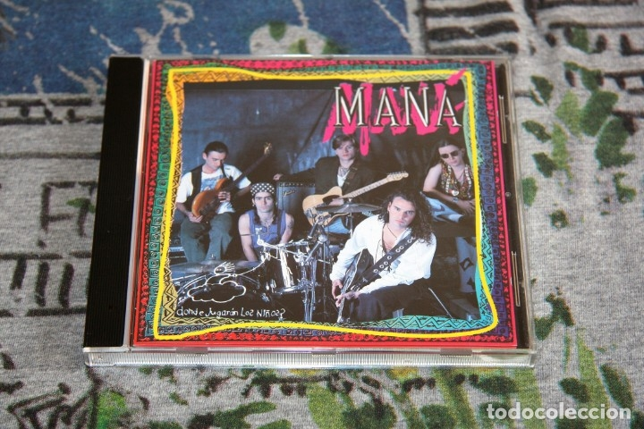 MANÁ - ¿DÓNDE JUGARÁN LOS NIÑOS? - WEA - CDI-7261 - 4509-90818-2 - CD (Música - CD's Latina)