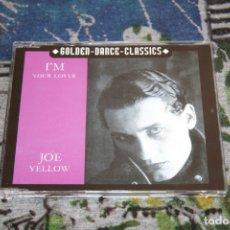 CDs de Música: JOE YELLOW - I'M YOUR LOVER - 2 TRACKS - GDC 2031-8 - ZXY MUSIC - CD-SINGLE. Lote 49068472