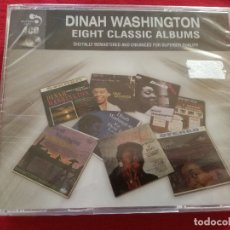 CDs de Música: DINAH WASHINGTON - EIGHT CLASSIC ALBUMS 4 X CD - JAMS IN THE LAND OF HI FI WHAT A DIFFERENCE DAY MAK. Lote 179599611