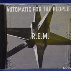 CDs de Música: R.E.M. - AUTOMATIC FOR THE PEOPLE - CD. Lote 179947806