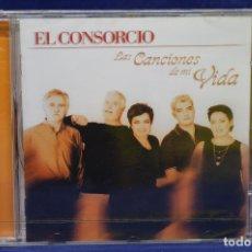 CDs de Música: EL CONSORCIO - LAS CANCIONES DE MI VIDA - CD. Lote 179948403