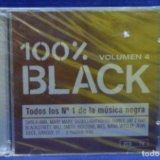 CDs de Música: VARIOUS - 100% BLACK VOLUMEN 4 - 2 CD. Lote 179949281