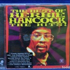 CDs de Música: HERBIE HANCOCK - THE BEST OF HERBIE HANCOCK / THE HITS - CD. Lote 179949463