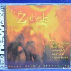 CDs de Música: MARK ZUBEK - HORSE WITH A BROKEN LEG - CD. Lote 179949826