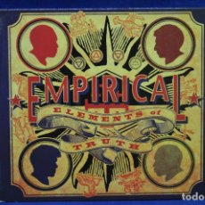 CDs de Música: EMPIRICAL - ELEMENTS OF TRUTH - CD. Lote 179950000