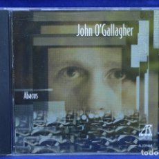 CDs de Música: JOHN O´GALLAGHER - ABACUS - CD. Lote 179950171